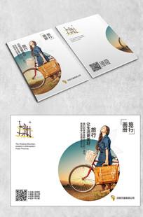 时尚旅游画册封面