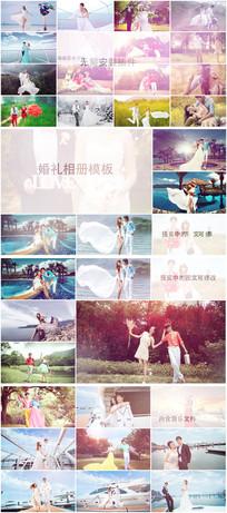 婚礼电子相册ae模板