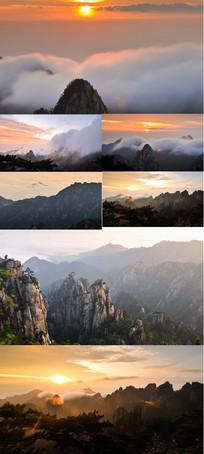 云海之上的黎明大美自然景观实拍