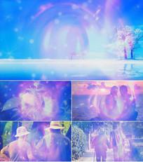 歌曲最浪漫的事舞台背景视频