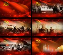 新中国成立的伟大历程视频素材