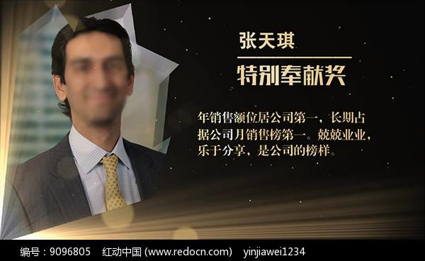 会声会影金色年度颁奖表彰晚会视频图片