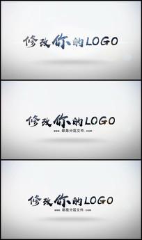 简洁简约LOGO动画AE模板