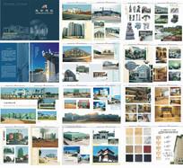石材建筑工程画册石材工艺画册