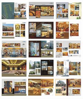 石材建筑工程实例石材装饰画册