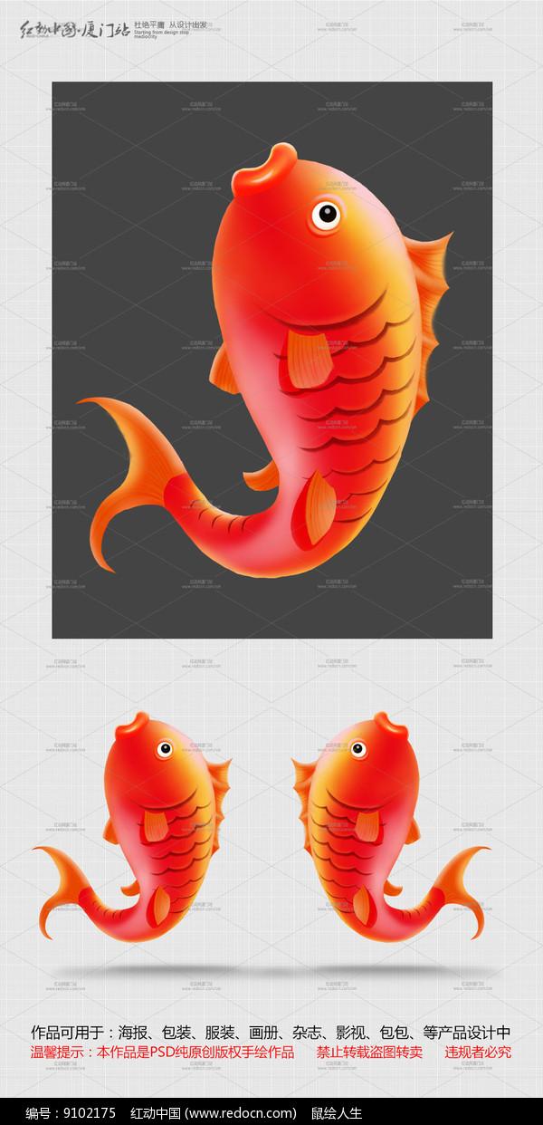 跳跃的鲤鱼图片