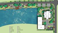 滨水休闲公园平面图