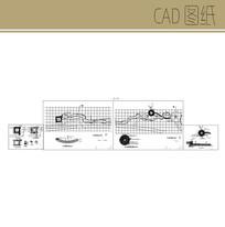 广场旱溪做法 CAD