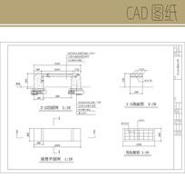 花岗岩坐凳CAD CAD