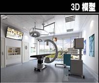 小型手术室3D模型