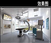 小型手术室3D效果图