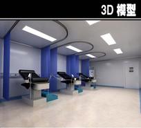 牙齿手术室3D模型