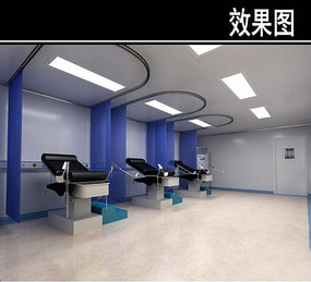 牙齿手术室3D效果图 JPG