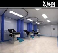 牙齿手术室3D效果图