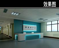 医院眼视网中心3D效果图