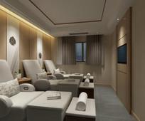 足浴房3Dmax设计