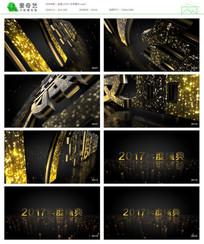 黑金文字展示包装视频
