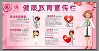 健康教育宣传栏展板
