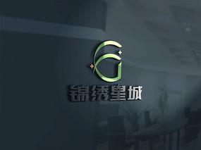 锦绣星城LOGO字体设计