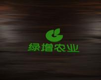 绿增农业LOGO字体设计