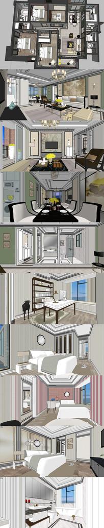 美式古典/住宅套案