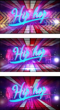 HIPHOP嘻哈音乐演出通用视频