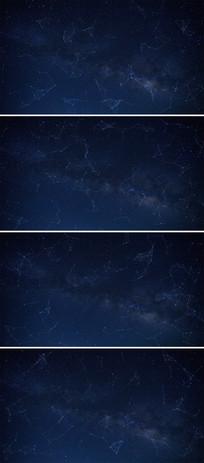 plexus蓝色科技片头视频
