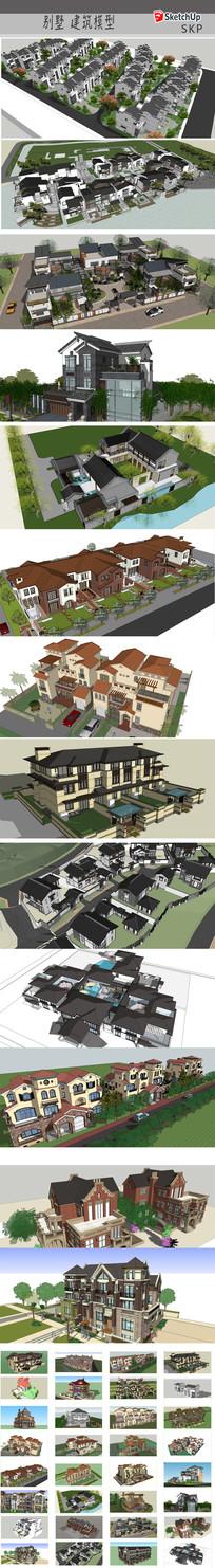 私家别墅建筑模型