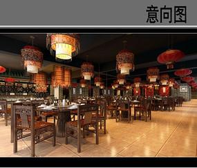 原木酒店餐厅