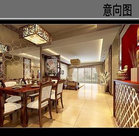 原木新中式餐厅