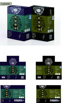 黑苦荞茶包装设计