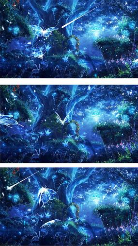 冰雪梦幻森林图片