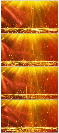 金色粒子落下红绸颁奖背景