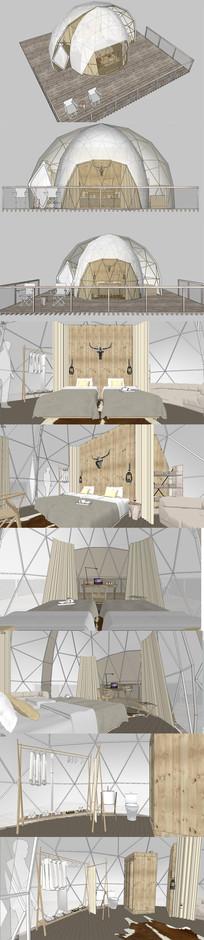 客栈设计/露营帐篷