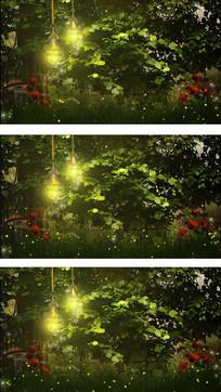 绿色背景视频素材