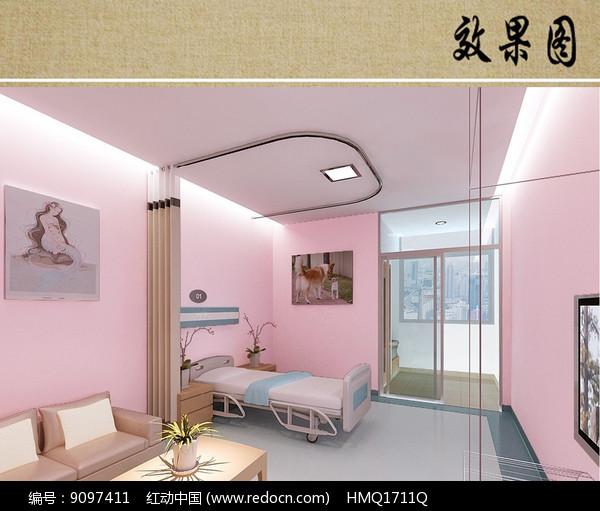 妇科病房效果图图片