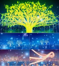 歌曲橄榄树舞台背景视频