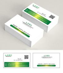 建材公司名片设计二维码PSD