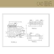 景观凳CAD图纸