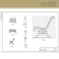 景观座椅CAD CAD