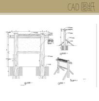 木桩指示牌CAD CAD