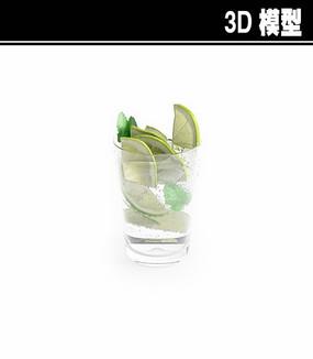柠檬水3D模型