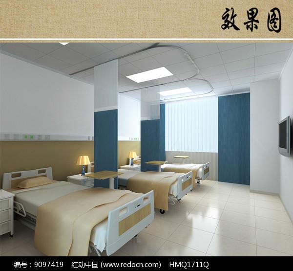 普通病房效果图图片