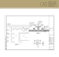 青石座椅详图 CAD
