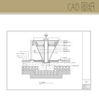 特色圆锥形坐凳 CAD