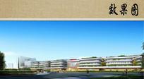 医疗中心建筑效果图 JPG