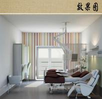 医院病房效果图
