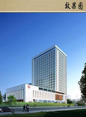 医院大楼设计效果图