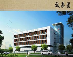 医院综合楼设计效果图