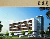 医院综合楼设计效果图 JPG